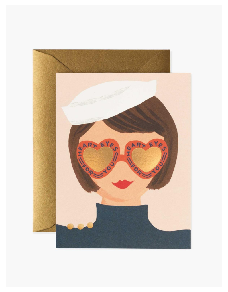 Rifle Paper Co. Heart Eyes Card