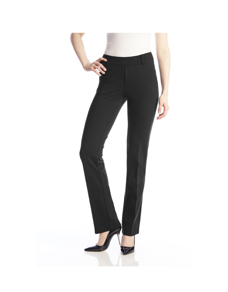 Up! Pants Luxury High Rise Pant Black