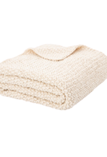 Chunky Natural Knit Throw
