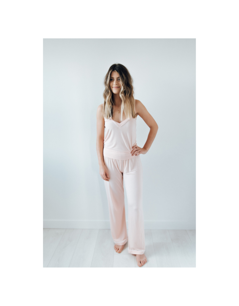riot theory Lennon PJs in Pink by Riot Theory