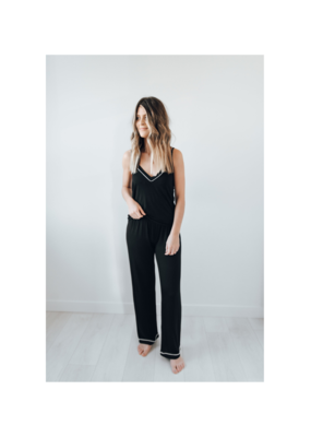 riot theory Lennon PJs in Black by Riot Theory