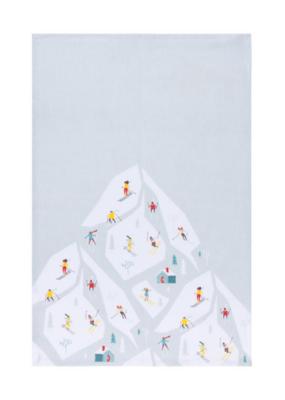 Alpine Print Tea Towel