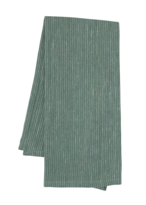 Linen Teatowel Heirloom Jade