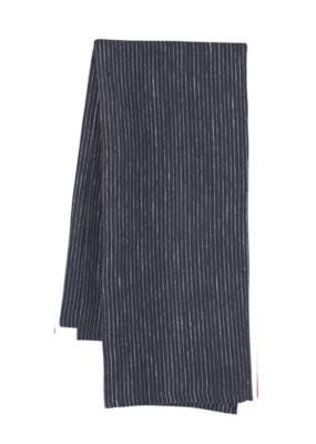 Linen Tea Towel Heirloom Midnight