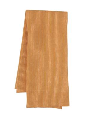 Danica Linen Tea Towel Heirloom Ochre