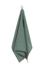 Linen Tea Towel Heirloom Jade
