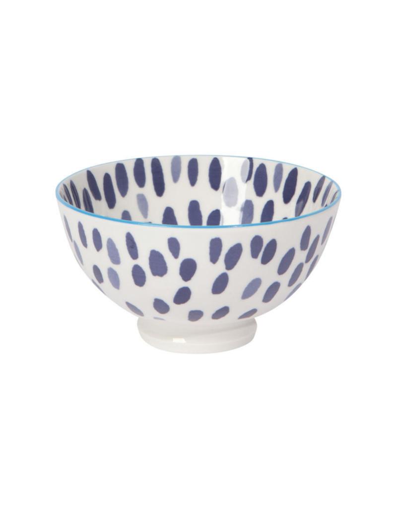 """Danica 4"""" Blue Spots Bowl"""
