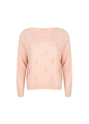3D Yarn Sweater in Blush by EsQualo