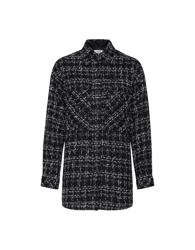 b.young Erica Shirt in Black Mix by b.young