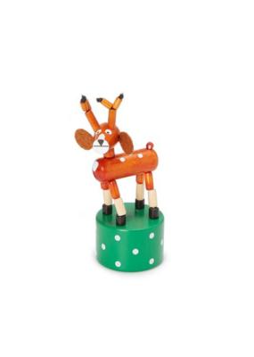 Jack Rabbit Creations Reindeer Push Puppet