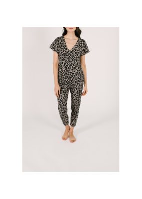 Smash + Tess Sunday Romper in Lexi Leopard by Smash + Tess