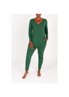 Smash + Tess Friday Romper in Evergreen by Smash + Tess