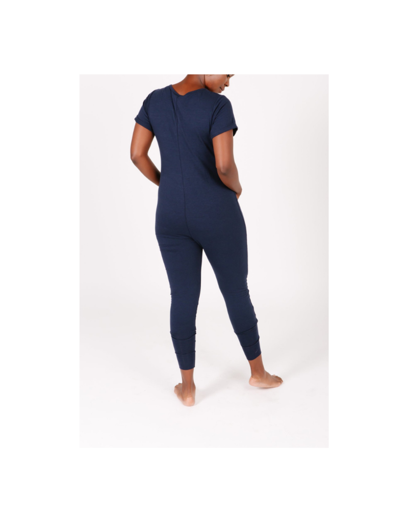 Smash + Tess AnyDay Romper in Navy by Smash + Tess