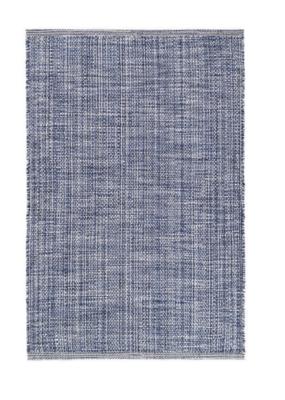 Dash & Albert Dash & Albert Indoor/Outdoor Fusion Blue Rug