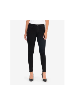 Kut from the Kloth Mia High Waisted Skinny in Black by Kut from the Kloth