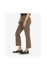 Kut from the Kloth Kelsey High Rise Ankle Flare Mocha & Black Print by Kut from the Kloth