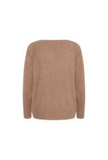 ICHI Alpa Sweater in Brown Sugar by ICHI