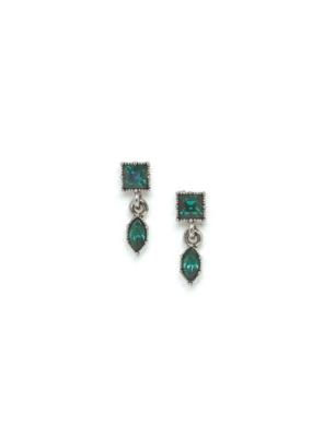 Lover's Tempo Lover's Tempo Bella Drop Earrings Emerald
