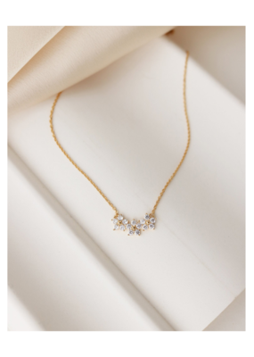 Lover's Tempo Blossom Necklace in Gold-Plated by Lover's Tempo