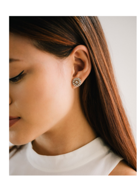 Lover's Tempo Lover's Tempo Odyssey Stud Earrings White