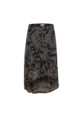 Part Two Esmee Skirt in Black Zig Zag Print by Part Two