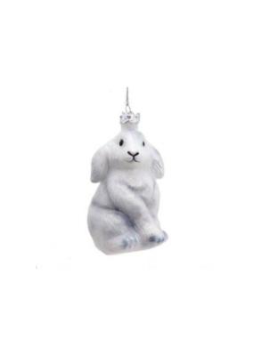 Noble Gems Glass Baby Bunny Ornament by Kurt Adler