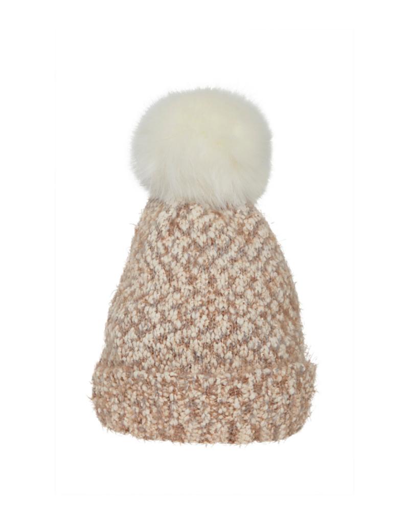 ICHI Linnett Pompom Hat by ICHI