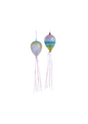 Glass Balloon Pastel Ornament by Kurt Adler