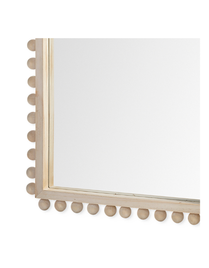 mercana Leeds Arched Wood Frame Mirror