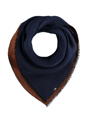 Fraas Double Face Neckie Scarf Royal
