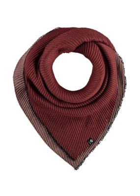 Fraas Double Face Neckie Scarf Rust