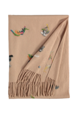 Fraas Artistic Needle Punch Camel Scarf