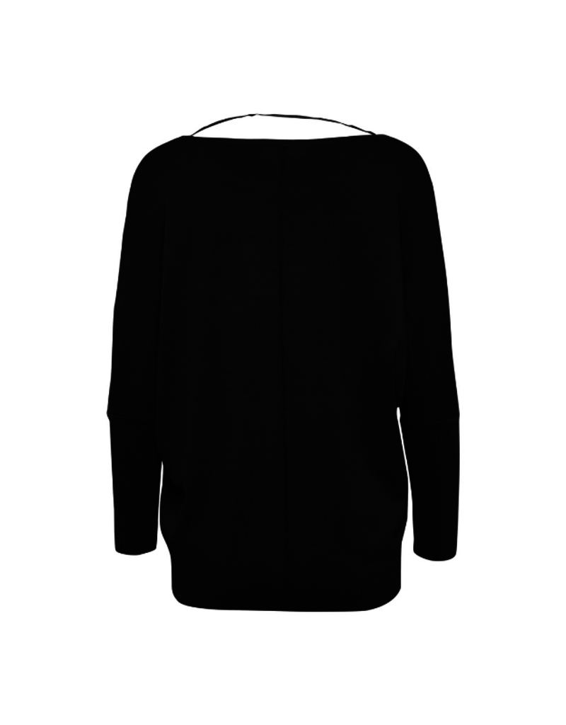 b.young Pimba Sweater in Black by b.young
