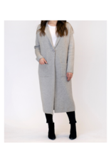 Lyla & Luxe Jimmi Coat in Heather Grey by Lyla + Luxe