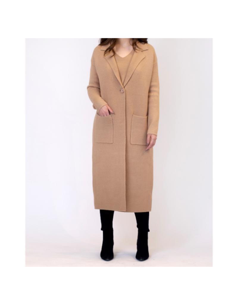 Lyla & Luxe Jimmi Coat in Carmel by Lyla + Luxe