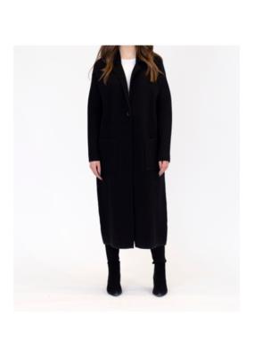 Lyla & Luxe Jimmi Coat in Black by Lyla + Luxe