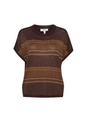 b.young Naldine Sweater in Winetasting by b.young