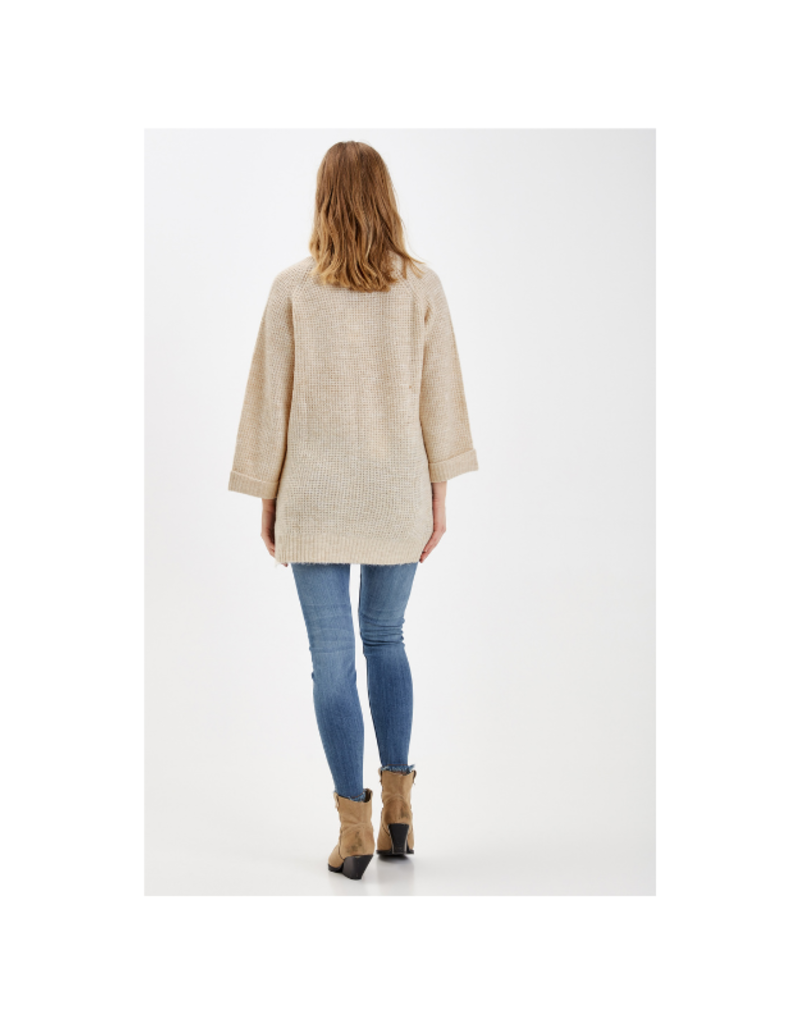 b.young Misha Tunic in Brazilian Sand Melanage by b.young
