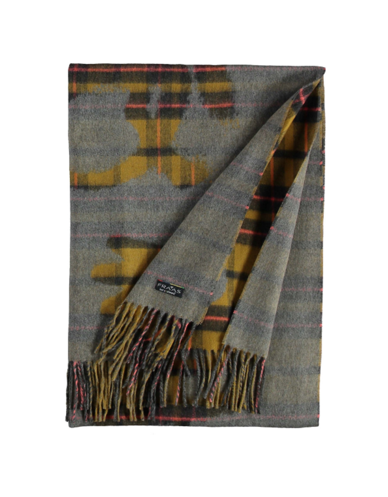 Fraas Queen For A Day Bronze Oversize Scarf