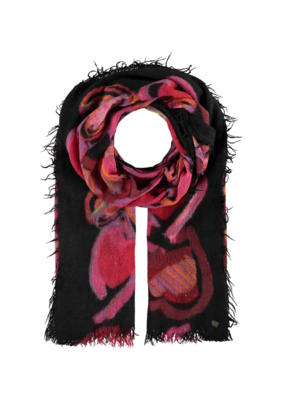 Fraas All Things Heart Pink Scarf