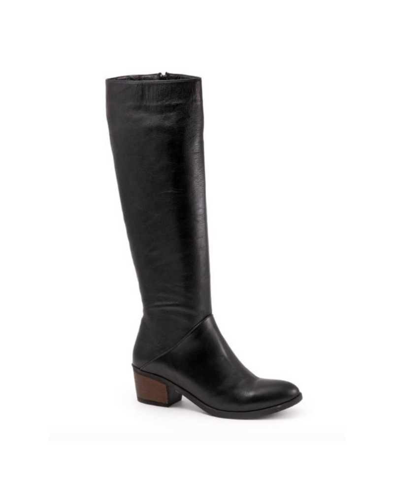 Bueno Curious Long Boot in Black Amalfi by Bueno