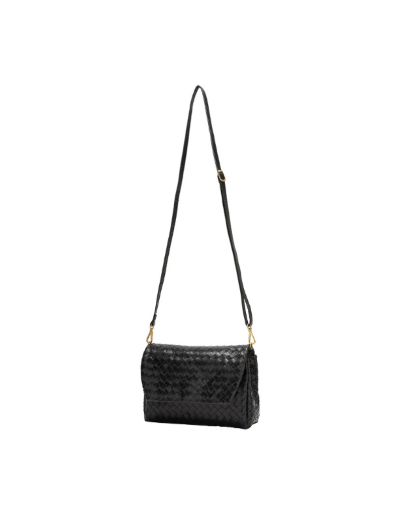 uashmama Large Terme Woven Handbag in Black by Uashmama