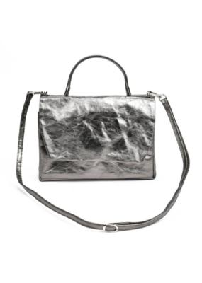 uashmama Large Terme Manico Handbag in Peltro by Uashmama