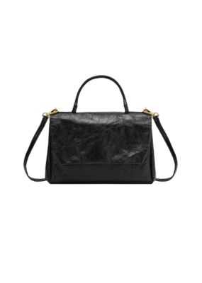 uashmama Large Terme Manico Handbag in Black by Uashmama