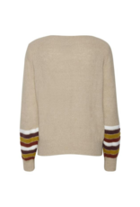 Fenner Sweater in Oxford Tan by ICHI