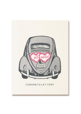 The Good Days Print Co. Just Married Card