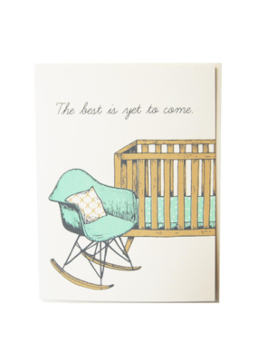 The Good Days Print Co. Eames New Baby Card