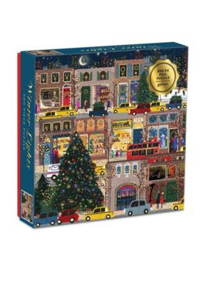 Winter Lights Foil 500pc Puzzle