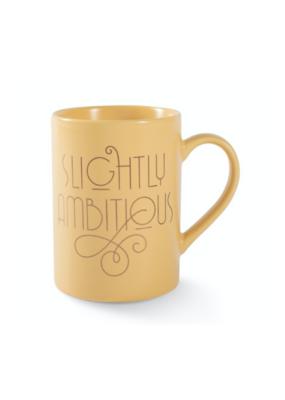 Slightly Ambitious Mug by Fringe