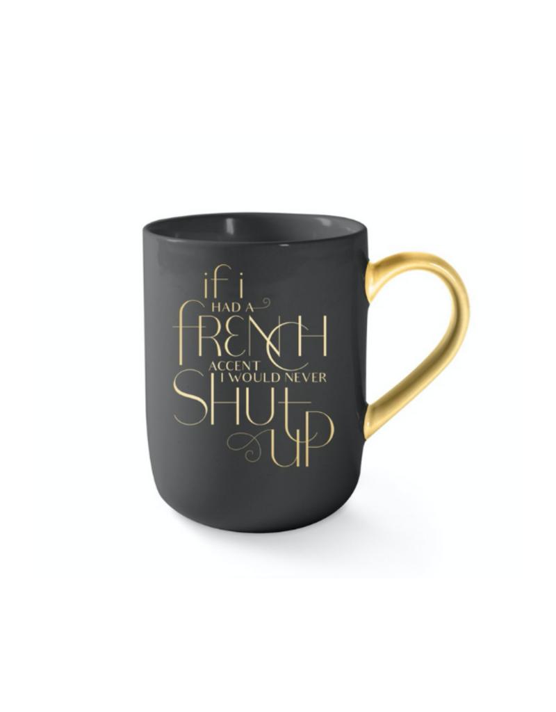 French Accent Mug by Fringe